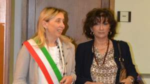 Il sindaco Soffritti insieme al prefetto di Livorno