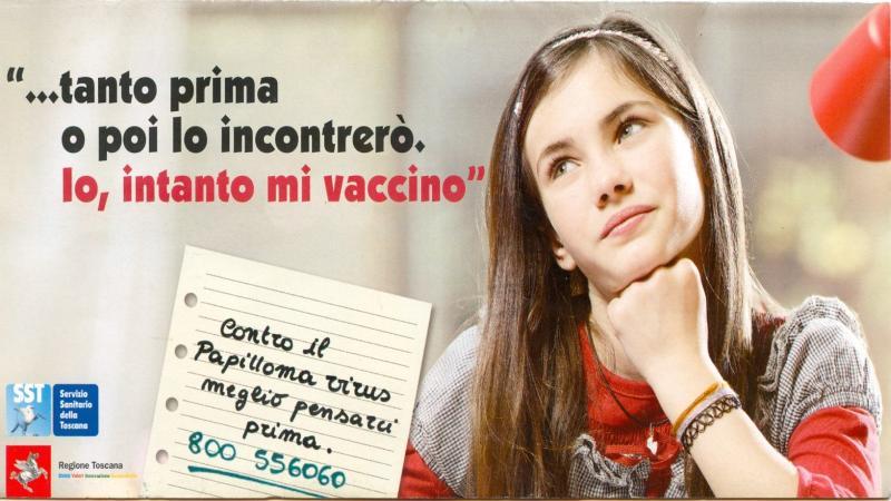 vaccinazione papilloma virus regione toscana