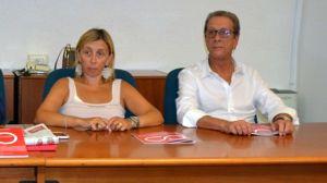 Il sindaco Soffritti con Leo Bruscoli