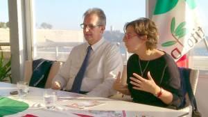Roberto Peria e Martina Pietrelli