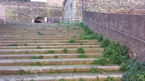 Scalinata di Via Giordano Bruno