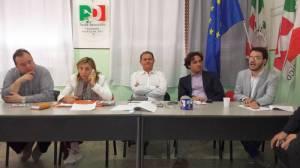 i candidati sindaco della coalizione di centrosinistra