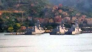 Navi militari al porto di La Spezia