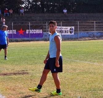 Mattia Cicalini, uno degli migliori dell'Atletico Piombino