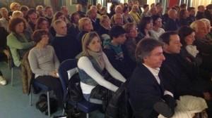 il pubblico presente all'iniziativa