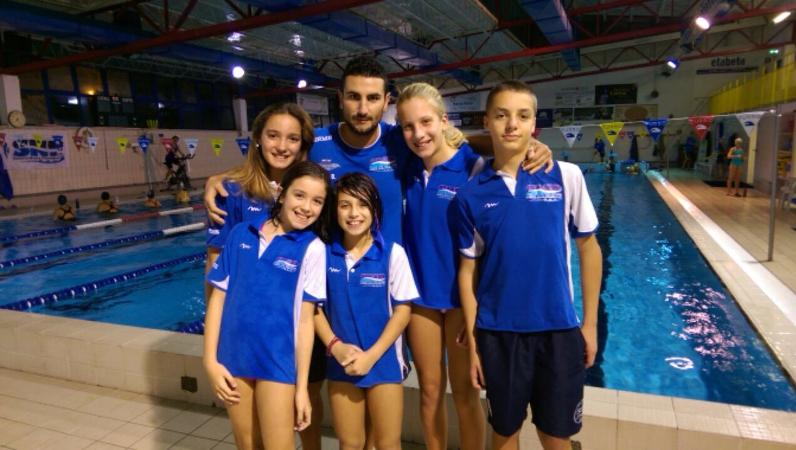 Cinque atleti della snp al trofeo nazionale delle regioni - Piscina san marcellino ...
