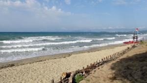 Un tratto di costa nel golfo di Follonica