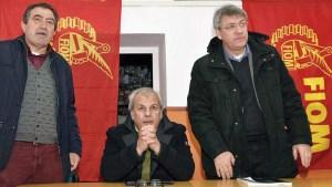 Luciano Gabrielli, Mauro Faticanti e Maurizio Landini
