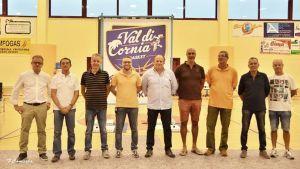 i dirigenti del Val di Cornia Basket