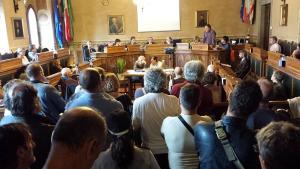 Luciano Gabrielli interviene in consiglio comunale
