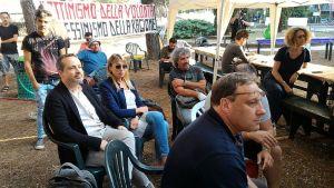 Fattori al recente Camping CIG a Piombino