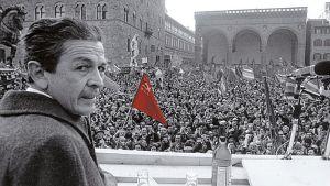 Berlinguer a Firenze nel 1980