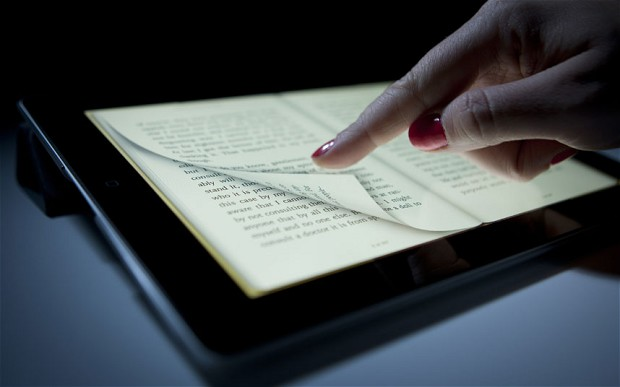 e-book lettura tablet