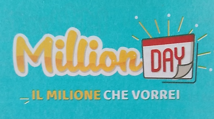 Estrazione million day 27 marzo i cinque numeri vincenti for Million day estrazione di oggi