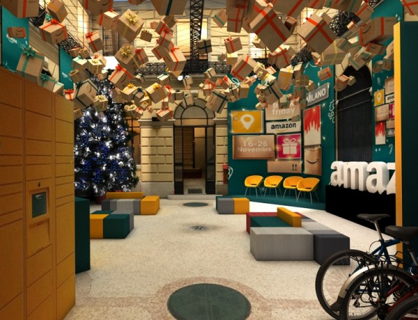Dal 16 al 26 novembre tanti eventi e ospiti animeranno l'Amazon Loft for Xmas, il primo showroom innovativo di Amazon in Italia