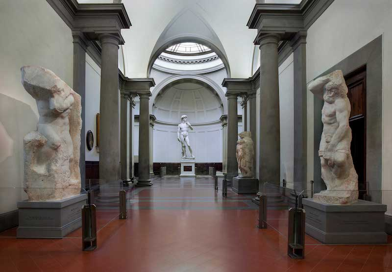 Galleria dell'Accademia di Firenze, la Tribuna e il David