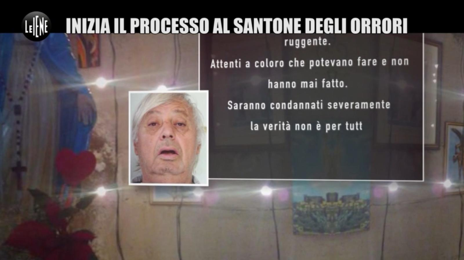 """Aci Bonaccorsi, """"Le Iene"""" tornano a occuparsi del 'santone' Capuana: """"Violenze nella navata della chiesa di Lavina"""" (VIDEO)"""