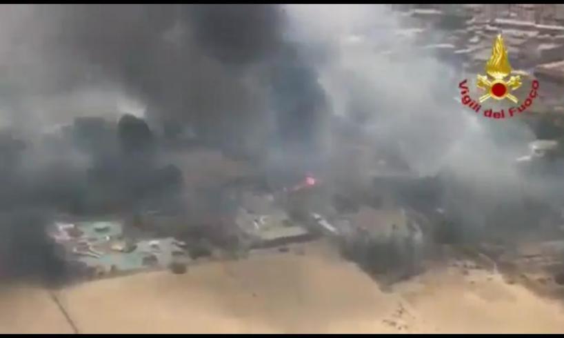 Incendio Playa