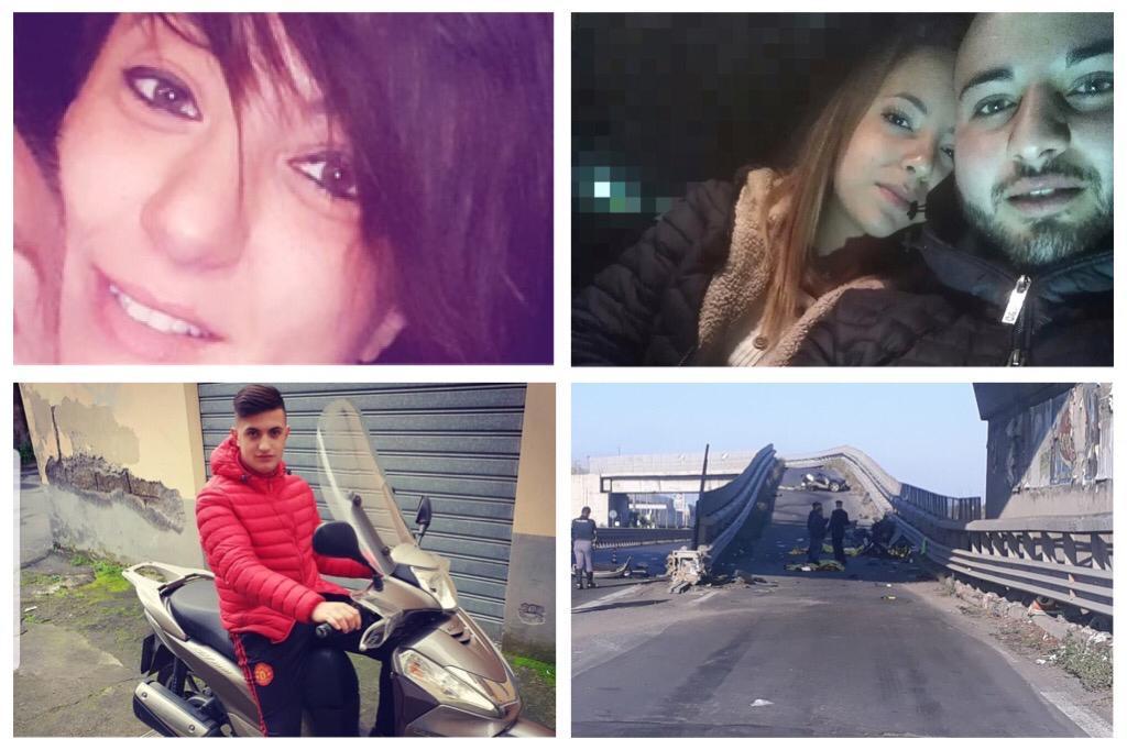 Adrano, città in lacrime per i 4 morti dell'incidente stradale: le foto delle vittime