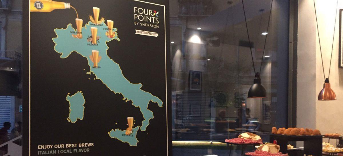 Birra e piatti locali: anche Catania al Four Points di Milano per la festa del luppolo