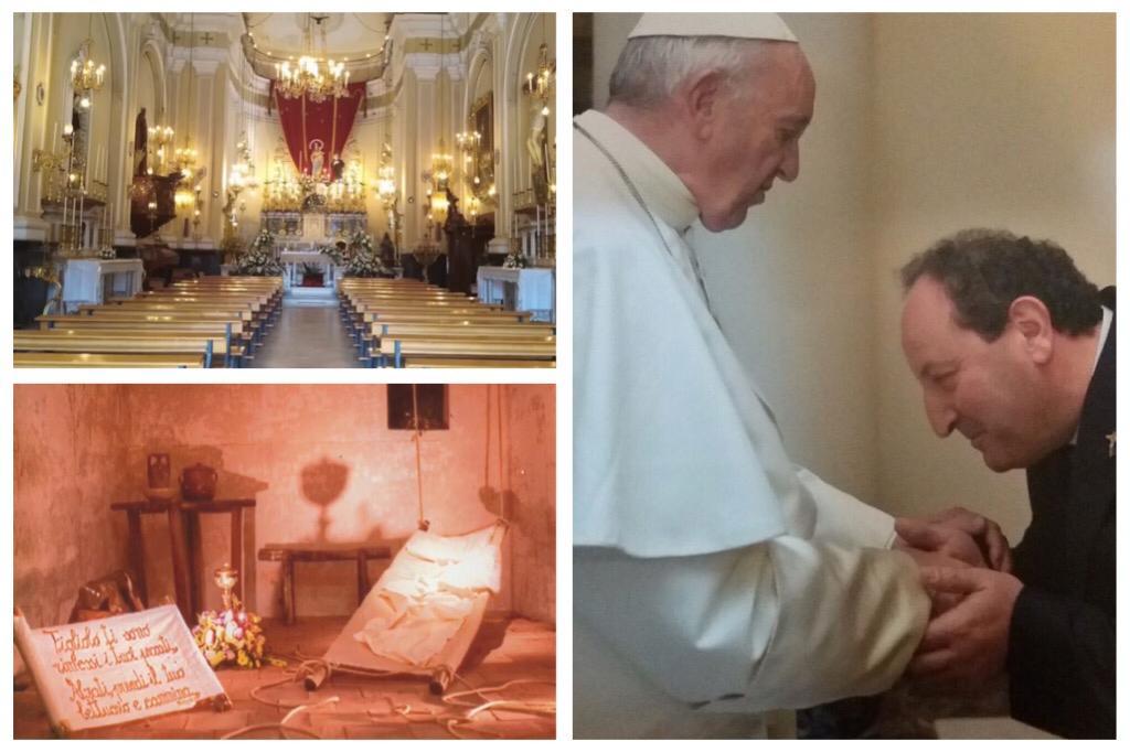Adrano, in un filmato il 'giro' dei sepolcri virtuale del Santuario Maria SS. Ausiliatrice: dal 1996 al 2019 (VIDEO)