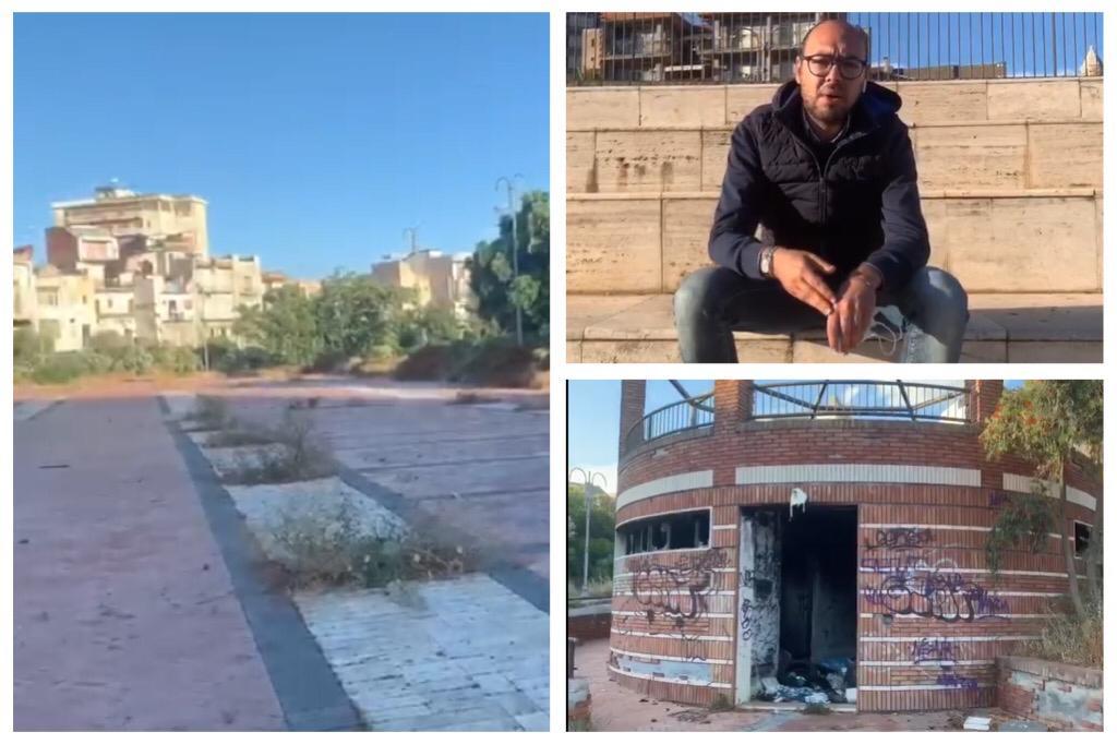 """Muoviti Paternò: """"Salviamo Piazza Nino La Russa dal degrado e riconsegniamola alla città"""" (VIDEO)"""