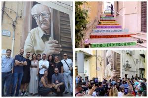 Camilleri e il murales di Porto Empedocle: l'arte urbana rigenera le città
