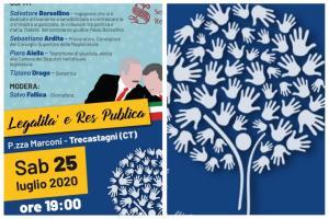 Trecastagni, dibattito su 'legalità e res pubblica': domani alle 19 in Piazza Marconi
