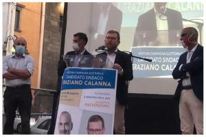 """Bronte, il ministro Provenzano lancia la ricandidatura di Calanna: """"Tornerò qui per festeggiare la tua vittoria"""""""