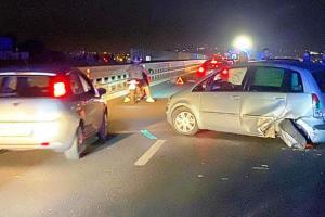Belpasso, tamponamento tra due auto provoca 4 feriti: sulla SS. 121 vicino a Etnapolis