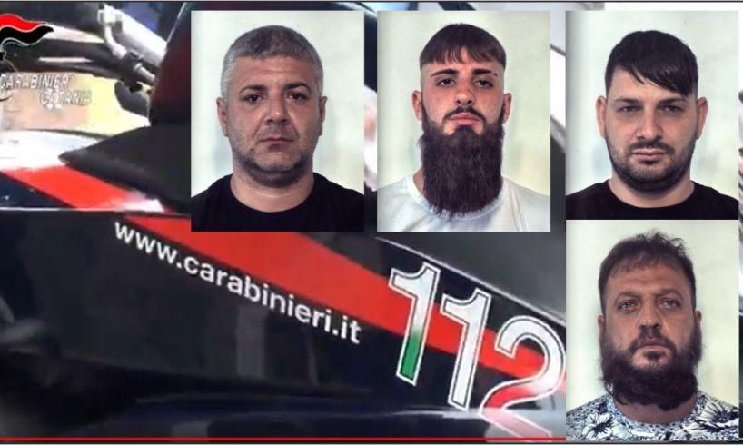 Catania, quartetto di rapinatori in manette: a segno doppio colpo a San Cristoforo e San Giorgio