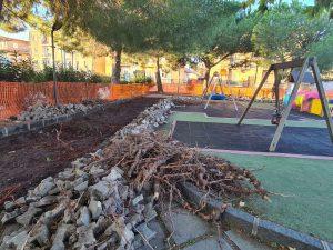 Biancavilla, si ripristina la pavimentazione del Parco 'Falcone e Borsellino': poi tocca ad altre due piazze