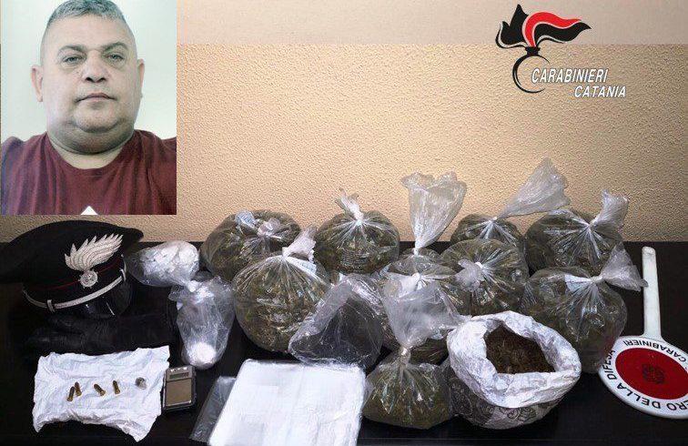 Giarre, la 'cantina' della droga era nel vano contatore: 49enne in manette