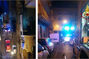 Acireale, famiglia intossicata dal fumo per un incendio al settimo piano di via Piemonte