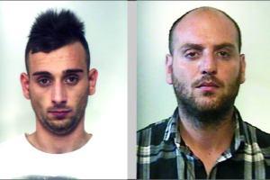 Palagonia, ordine di carcerazione per rapina in provincia di Ancona: in carcere 31enne e 24enne