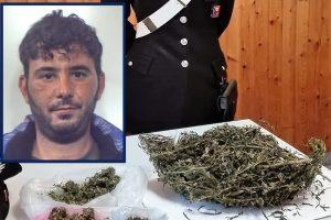 Belpasso, casolare e carcassa d'auto come deposito per la droga: 32enne arrestato in flagranza