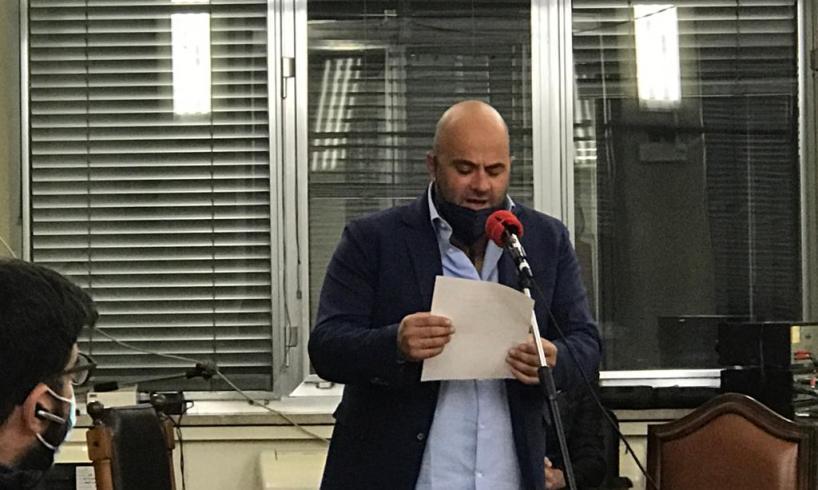 Adrano, Avellino entra in Consiglio comunale: ieri il giuramento dopo la surroga (VIDEO)