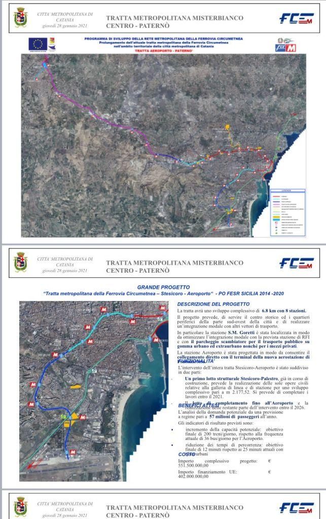 Catania, metropolitana Misterbianco-Paternò: Pogliese e Fce chiedono nuovo finanziamento