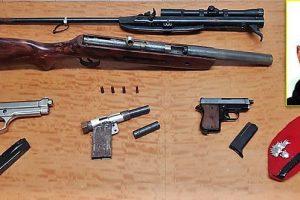 Scordia, modificava armi in un capanno di c.da Archi Barona: 31enne arrestato in flagranza