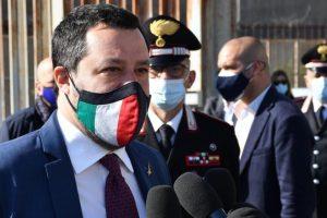 """Gregoretti, Salvini: """"Spero che il 14 maggio si chiuda qua. Ripagato di amarezze"""""""