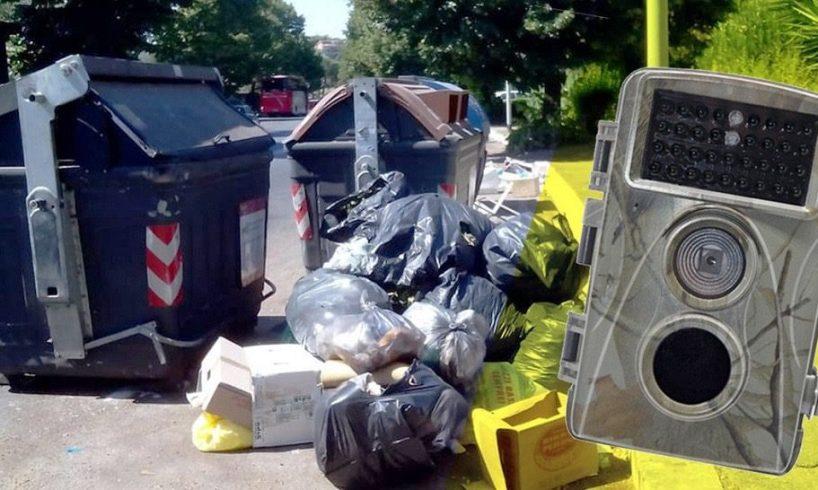 Misterbianco, 'foto trappole' e multe salate per chi abbandona i rifiuti: i commissari attivano la videosorveglianza