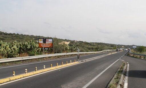 Biancavilla, resta lo spartitraffico sulla SS 284: da 50 a 70 km/h il limite di velocità