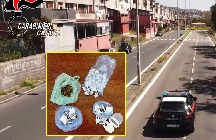 Catania, spacciano sotto i portici di via Capo Passero: due arrestati, uno era ai domiciliari