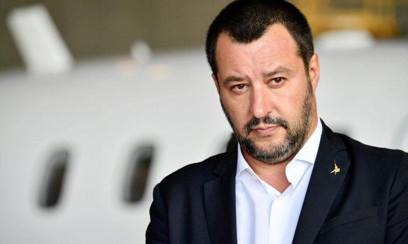 """Voghera, Salvini: """"Qui non è Far West. Se hai il porto d'armi è normale"""""""