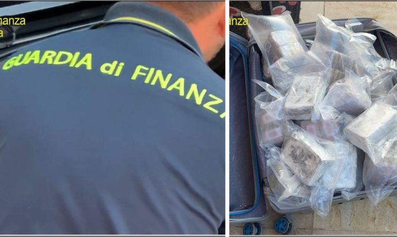 Catania, GdF sequestra 67 kg di cocaina e hashish sull'asse Italia-Spagna: 3 arresti (VIDEO)