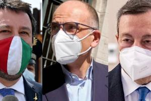 """Mario Draghi a Palazzo Chigi """"almeno fino al 2023"""":"""
