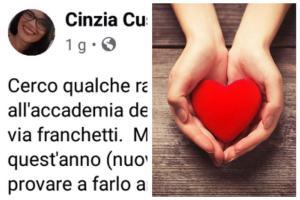 """Paternò: commuove l'appello di mamma Cinzia: """"Cerco un angelo custode per mio figlio autistico che comincia l'università"""""""