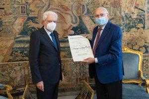 """Pippo Baudo nominato da Mattarella cavaliere di Gran Croce: """"E' arrivata a sorpresa"""""""
