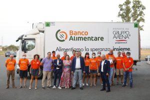 Catania, un camion refrigerato per il Banco Alimentare della Sicilia: lo ha donato il Gruppo Arena