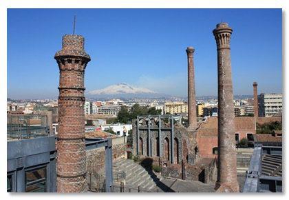 Catania, per le 'Giornate Fai' le stanze dello zolfo delle Ciminiere aprono alle visite: sabato e domenica